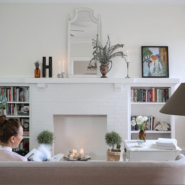 Home interior white
