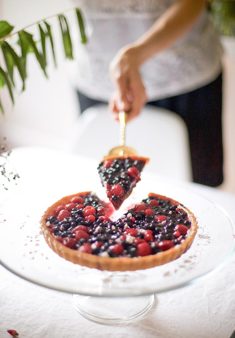 a berry tart