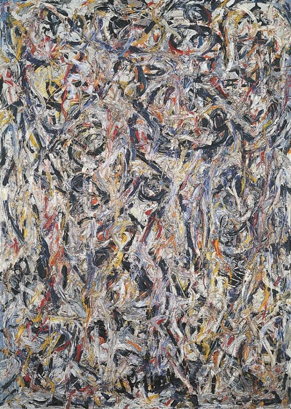 Jackson Pollock | Earth Worms, 1946